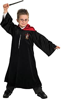 Rubieu0027s Official Harry Potter Gryffindor Deluxe Robe Childs Costume Size  Large 7 8 Years