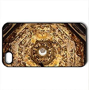 ceiling - Case Cover for iPhone 4 and 4s (Religious Series, Watercolor style, Black)