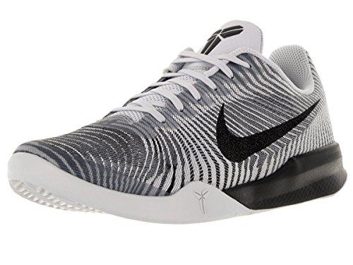 Scarpe Nike Uomo Black Bianco II Grey da Grigio Nero Basket wolf Mentality White KB rtqxtB