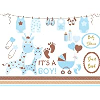 Baby Shower Guest Book for Boy: Baby Guest Book Shower,Welcome Baby Message Book,Advice for Parents and Wishes for baby,Comments or Predictions
