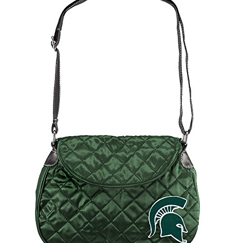 NCAA Michigan State Spartans Quilted Saddlebag ()