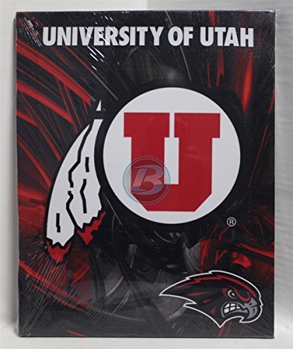 "University of Utah Canvas 11"" x 14"" Wall Hanging by R and R Imports"
