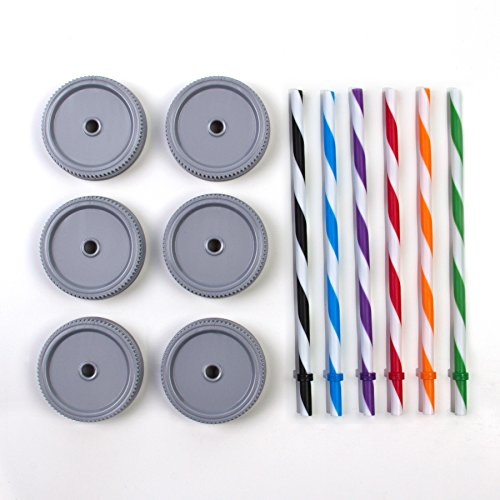 Cupture Regular Mouth Stripped Straws