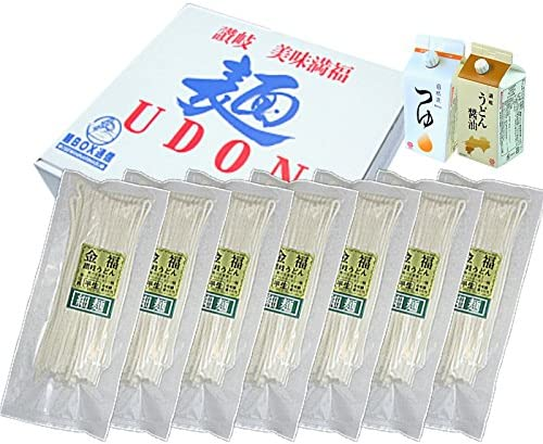 【小松屋 麺BOX】 讃岐うどん まるごと美味満福セット(大盛14人前) 半生讃岐うどん 細麺