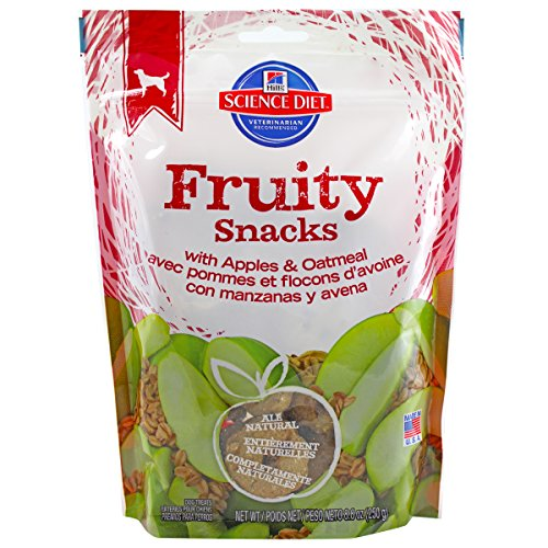 Hill'S Science Diet Crunchy Fruity Snacks With Apples & Oatm