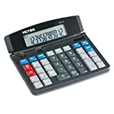 Victor 12004 1200-4 Business Desktop Calculator, 12-Digit LCD