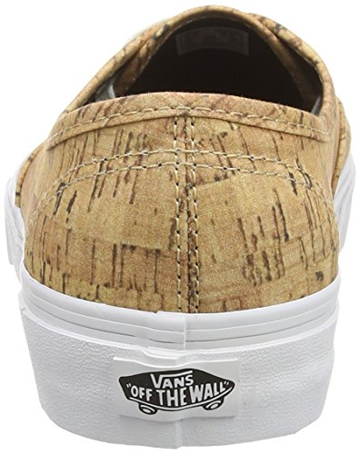 Tan True Cork – Unisex Ginnastica Authentic Vans Multicolore White Adulto Scarpe da Basse xwv4CP1q