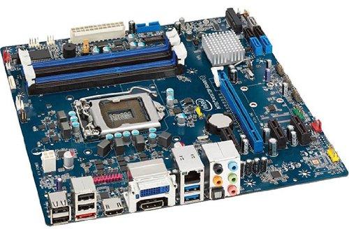 2NV2317 - Intel Media DH77EB Desktop Motherboard - Intel H77 Express Chipset - Socket H2 LGA-1155-10 x Bulk Pack
