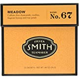 Smith Teamaker Meadow Blend No. 67 (Large Cut Herbal Infusion), 0.85 oz, 15 Bags