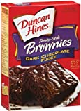 Duncan Hines Dark Chocolate Fudge Brownie Mix - 2 boxes
