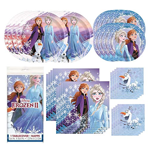 with Frozen Party Packs design