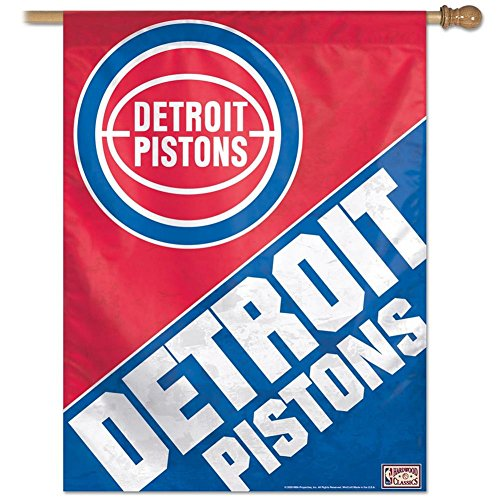 NBA Banner Flag Team: Detroit Pistons