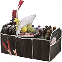 Car Boot Organiser Collapsible with Cooler Bag Trunk Storage Folding Bag