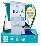 Brita Monterey Water Filter Pitcher, 10 Cup- Teal