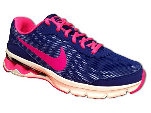 New Nike Girls Reax Run 9 Running Shoes Royal Blue/Hyper ...