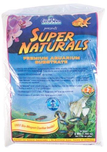 Carib Sea Super Natural Moonlight Sand for Aquarium, 5-Pound (2 Pack)