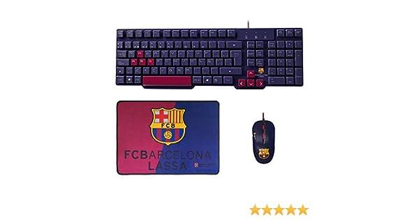 Mars Gaming BLBC2 - Pack de teclado, ratón y alfombrilla del FC ...