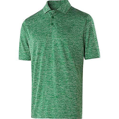 Holloway Sportswear Electrify 2.0 Polo Shirt. 222529 Kelly Heather 3XL (Holloway Sportswear)