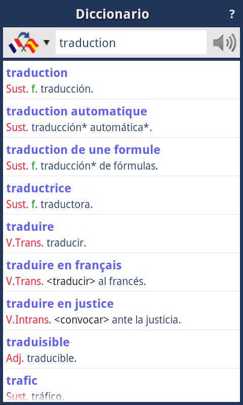 Traductor Español-Francés (Offline): Amazon.es: Appstore