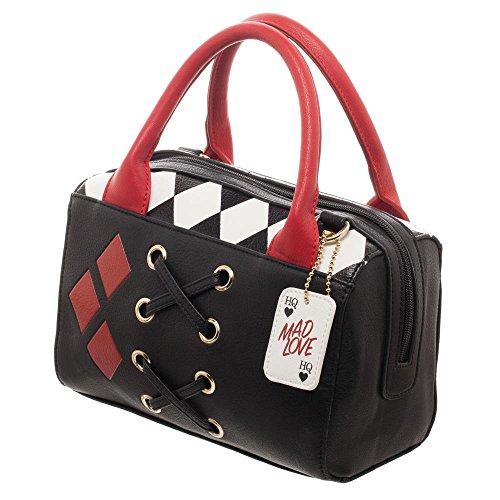 Haryley Quinn Diamond Mini Satchel Bag Handbag