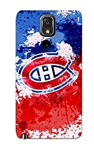 Freshmilk Brand New Defender Case For Galaxy Note 3 (Enjoy This New Montreal Canadiens Background) / Christmas's Gift