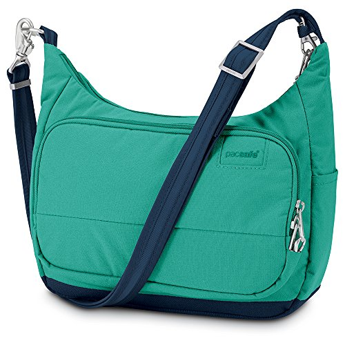 d203927ba194 Pacsafe Citysafe LS100 Anti-Theft Travel Handbag