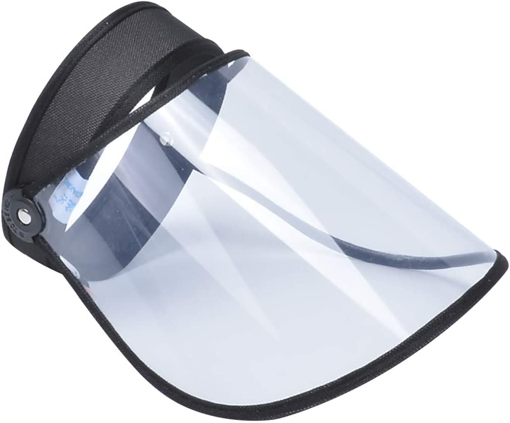Visi/ère Bouclier Transparent Anti-gouttelette Visi/ère De Protection Visi/ère Bouclier Visage Bouclier Chapeausports Protection Googles