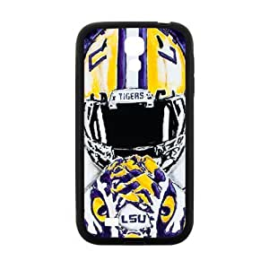 Generic Custom Design NCAA LSU Tigers Cover Case for SamSung Galaxy S4 I9500 (Laser Technology)