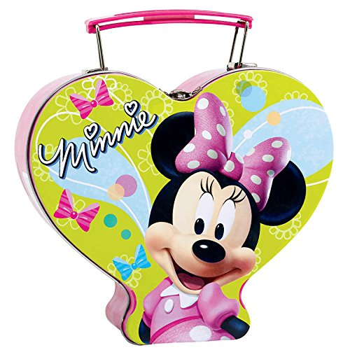 Minnie Mouse Metal Box, Multicolored