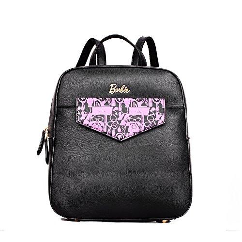 Barbie mochila multifuncional elegante para mujeres bolso simple para cita o escuela bolso al hombro de buena calidad para chicas 7
