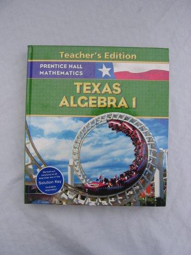 Mathematics:Algebra 1 (TX) (TE)