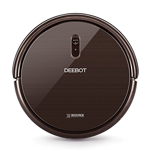 ECOVACS DEEBOT N79S Robot Vacuum Cleaner with Max Power Suction, Alexa Connectivity, App Controls, Self-Charging for Hard Surface Floors & Thin Carpets by ECOVACS