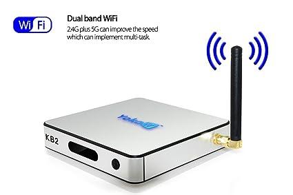 Amazon com: Generic YOKA TV KB2 Pro 4K Video Android TV Box