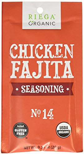 - Riega Chicken Fajita Seasoning, .71 Ounce (Pack of 8)