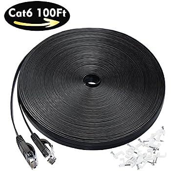 Amazon. Com: importer520 cat/5-100ft cat5e patch ethernet network.