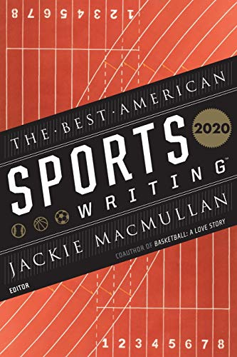 Book Cover: The Best American Sports Writing 2020