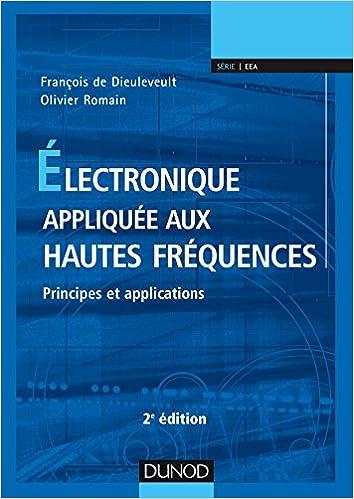 couverture du livre Electronique appliquée aux hautes fréquences