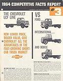 1964 Chevrolet LCF Truck Vs Ford IHC Dodge Brochure