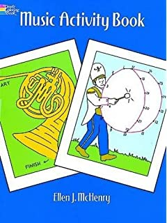 Music Activity Book Dover Coloring Books