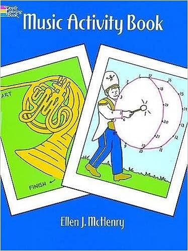 Music Activity Book (Dover Coloring Books): Ellen J. McHenry ...