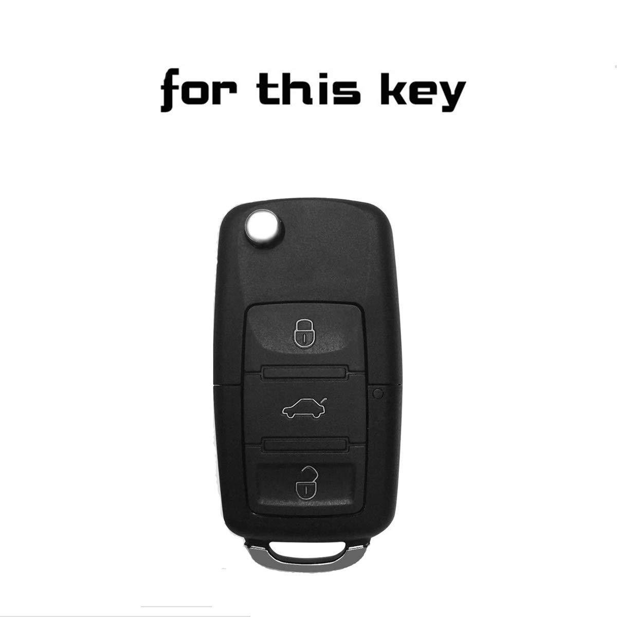 Amazon.com: Silicone Key Fob Skin Key Cover Remote Case ...