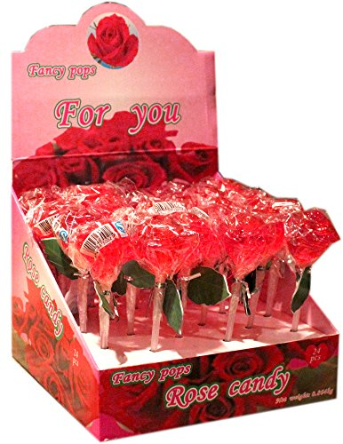 Red Rose Large Fancy Pop 24ct