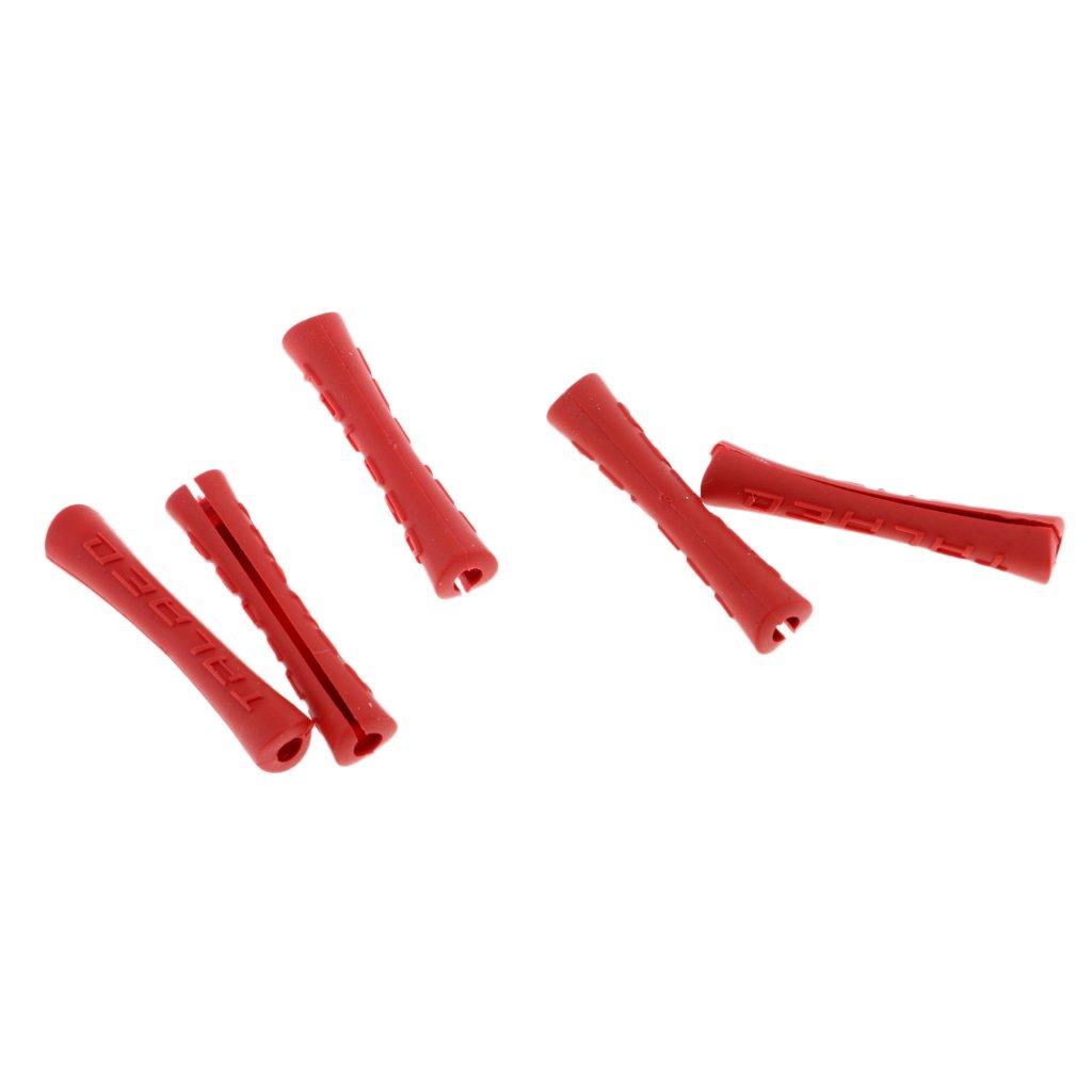 Sharplace Set de 5pcs Couvercle Protection de C/âble de V/élo Wrap de C/âble