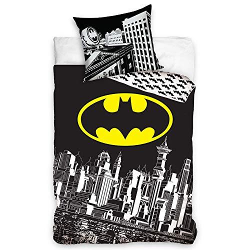Batman Gotham City Single Cotton Duvet Cover Set
