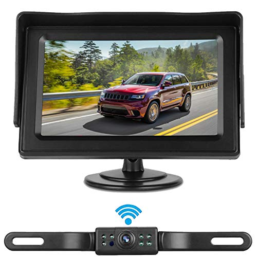 Rohent HD Color Wireless Backup Camera and 4.3