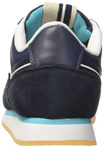 Les a Sergio Collo Club Navy Basso Sneaker Uomo Tacchini Blu fwn5q7F