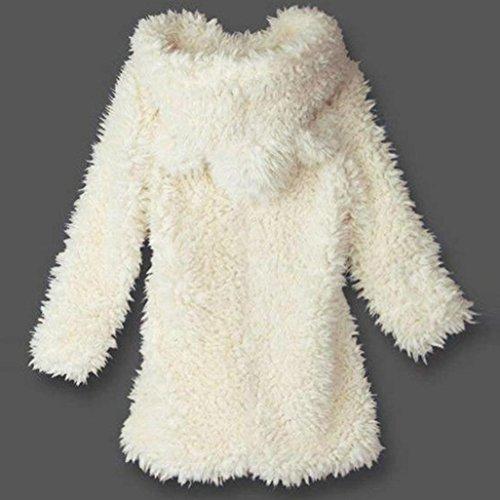 ventas conejo Linda Chaqueta de de Internert de con Blanco encapuchado caliente las la señora capa la sudadera felpa capucha de del la awBzwTq