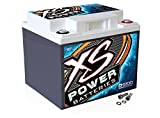 XS Power D1200 XS Series 12V 2600 Amp AGM High Output Battery with M6 Terminal Bolt