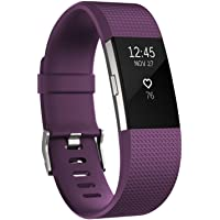 Fitbit Charge 2 Heart Rate Wristband (Plum)