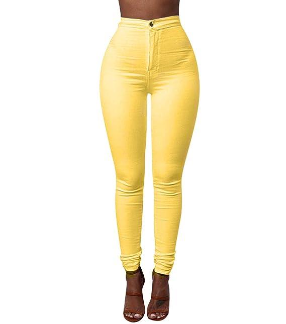 5166d4b1 ... Mujer Jeggings Leggins Push Up Señora Leggings Deporte Pantalones Talle  Alto Deportivos Elasticos Mujer Tallas Grandes: Amazon.es: Ropa y accesorios